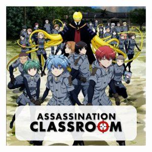 Assassination Classroom 3D lamp