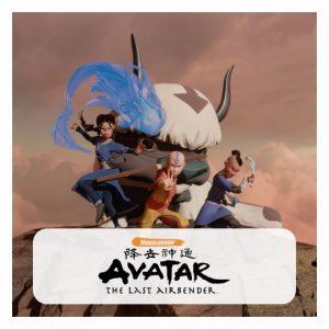 Avatar: The Last Airbender 3D lamp