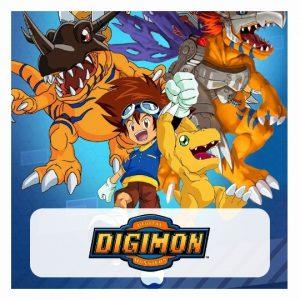 Digimon 3D lamp