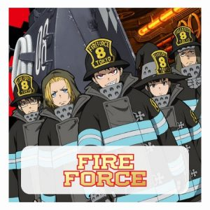 Fire Force 3D lamp