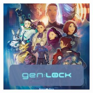 Gen:LOCK 3D lamp