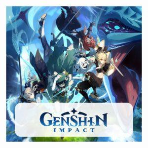 Genshin Impact 3D lamp