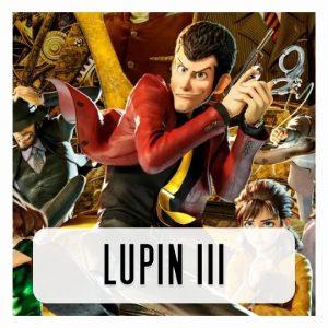 Lupin 3D lamp