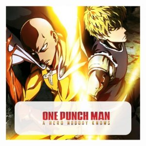 One Punch Man 3D lamp