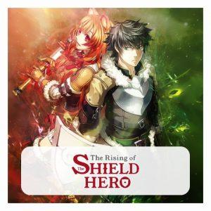 Shield Hero 3D lamp