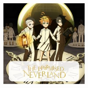 The Promised Neverland 3D lamp