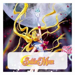 Sailor Moon 3D lamp