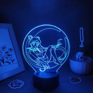 SERENA TSUKINO LED ANIME LAMP (SAILOR MOON) Otaku0705 TOUCH +(REMOTE) Official Anime Light Lamp Merch