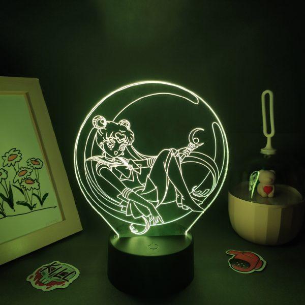 3 d lamp anime sailor moon manga figure l main 2 - Anime 3D lamp