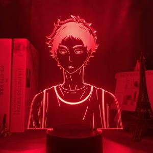 KEIJI AKAASHI LED ANIME LAMP (HAIKYUU!!) Otaku0705 TOUCH +(REMOTE) Official Anime Light Lamp Merch