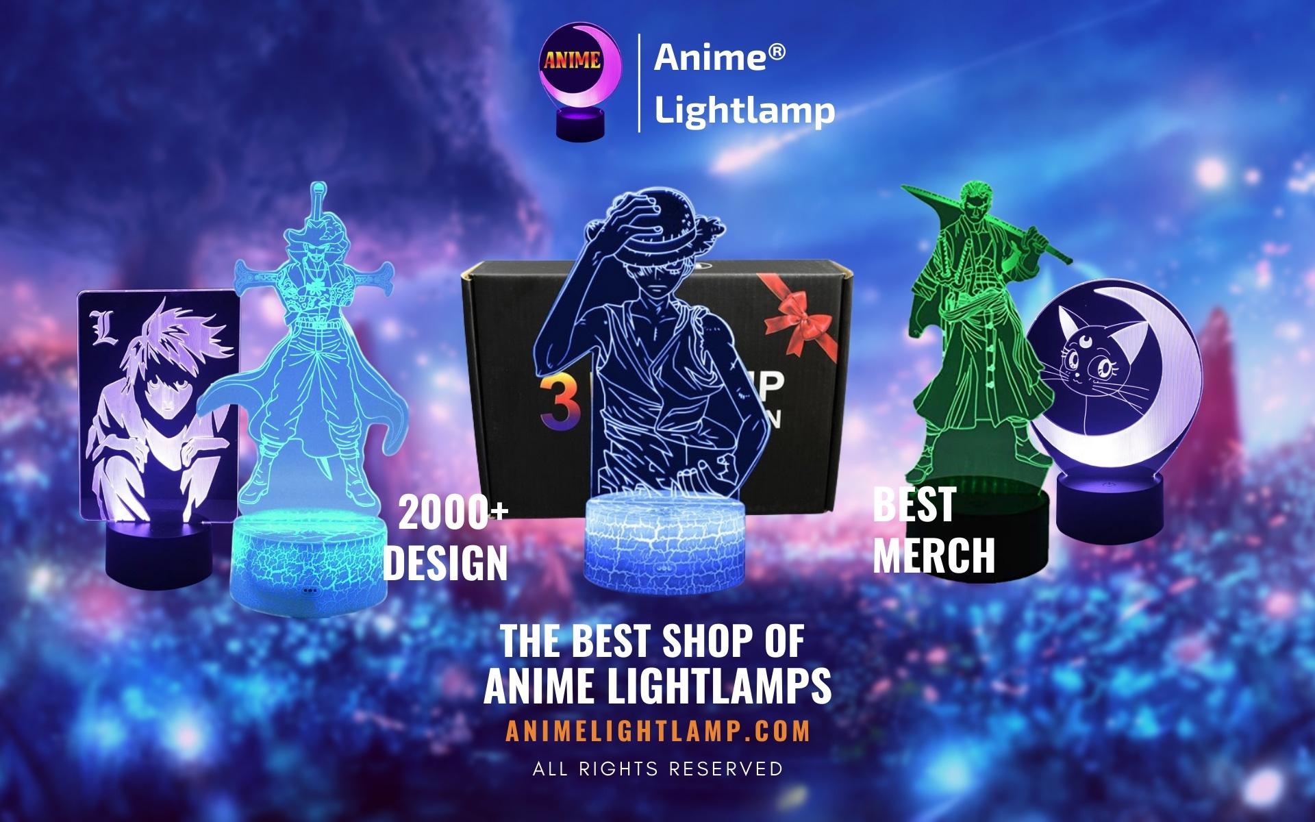 Anime Lightlamp Web Banner 1 - Anime 3D lamp
