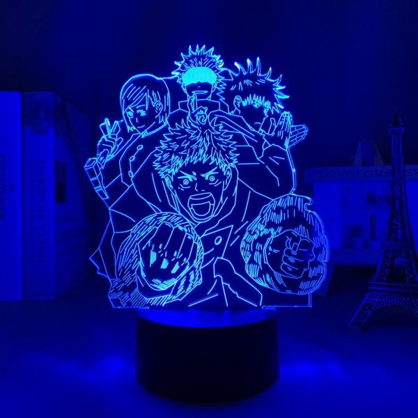 IMG 0061 - Anime 3D lamp
