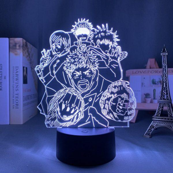 IMG 0062 - Anime 3D lamp