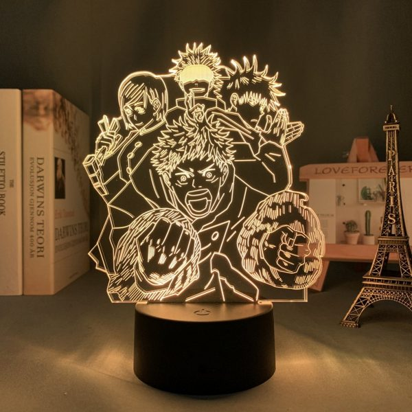 IMG 0063 - Anime 3D lamp