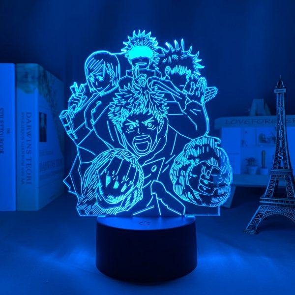 IMG 0064 - Anime 3D lamp