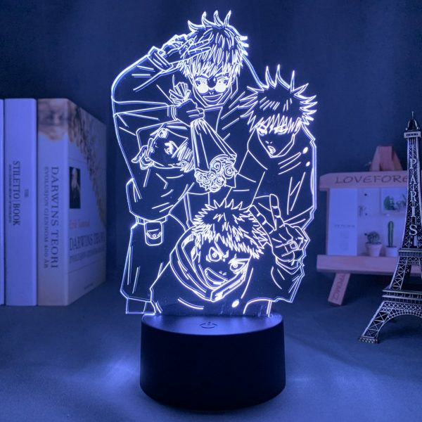 IMG 0106 - Anime 3D lamp