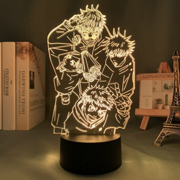 IMG 0107 - Anime 3D lamp