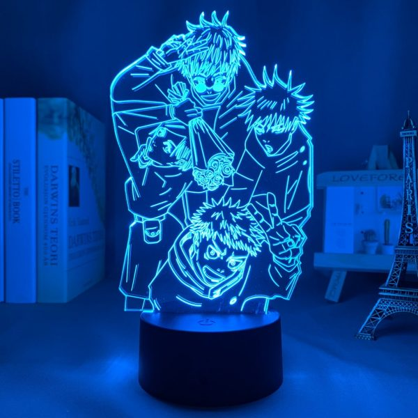 IMG 0108 - Anime 3D lamp
