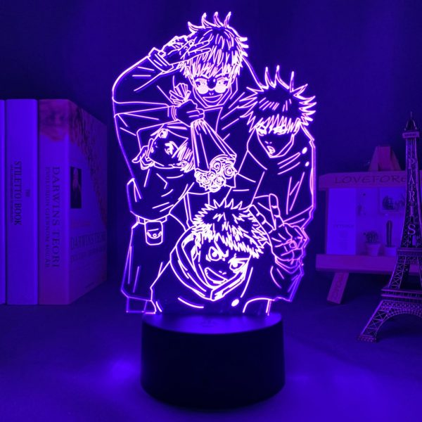 IMG 0109 - Anime 3D lamp