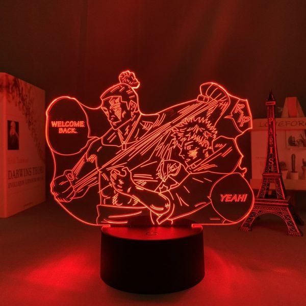 TODO AND ITADORI LED ANIME LAMP (JUJUTSU KAISEN) Otaku0705 TOUCH Official Anime Light Lamp Merch