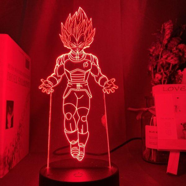 VEGETA+ LED ANIME LAMP (DBZ) Otaku0705 TOUCH +(REMOTE) Official Anime Light Lamp Merch