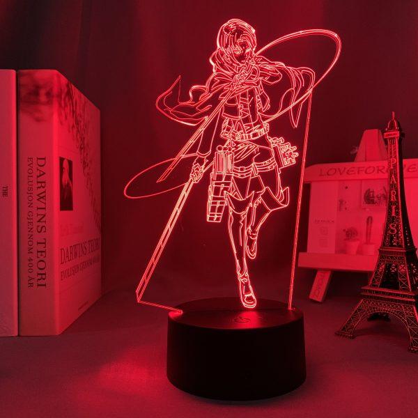 LEVI ACKERMAN LED ANIME LAMP (ATTACK ON TITAN) Otaku0705 TOUCH Official Anime Light Lamp Merch