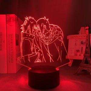 SASUKE & ITACHI LED ANIME LAMP (NARUTO) Otaku0705 TOUCH Official Anime Light Lamp Merch