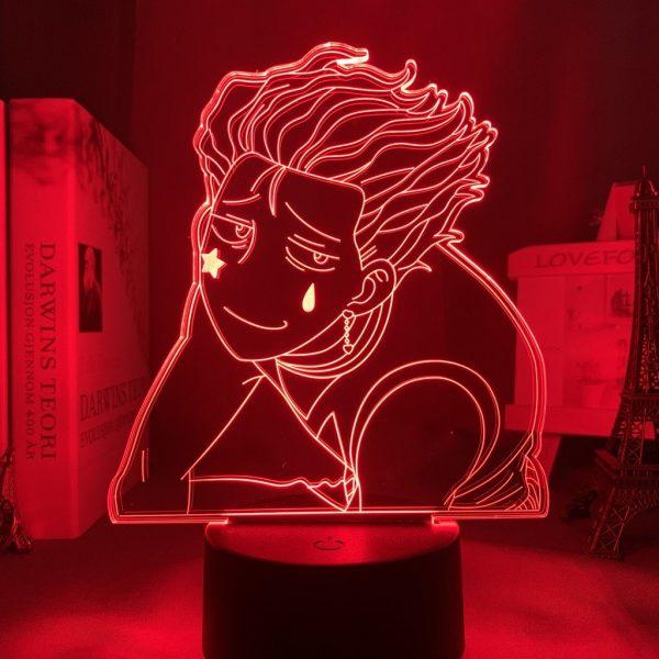 HISOKA LOVE LED ANIME LAMP (HUNTER X HUNTER) Otaku0705 TOUCH +(REMOTE) Official Anime Light Lamp Merch