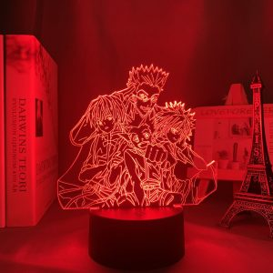 HXH LED ANIME LAMP (HUNTER X HUNTER) Otaku0705 TOUCH +(REMOTE) Official Anime Light Lamp Merch