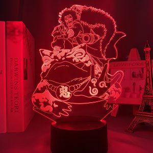 LORD JIRAIYA LED ANIME LAMP (NARUTO) Otaku0705 TOUCH +(REMOTE) Official Anime Light Lamp Merch