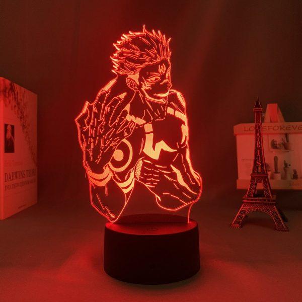 SUKUNA EDGE LED ANIME LAMP (JUJUTSU KAISEN) Otaku0705 TOUCH Official Anime Light Lamp Merch