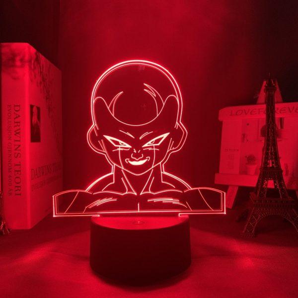 FRIEZA LED ANIME LAMP (DBZ) Otaku0705 TOUCH +(REMOTE) Official Anime Light Lamp Merch