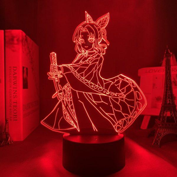 SHINOBU LED ANIME LAMP (DEMON SLAYER) Otaku0705 TOUCH Official Anime Light Lamp Merch