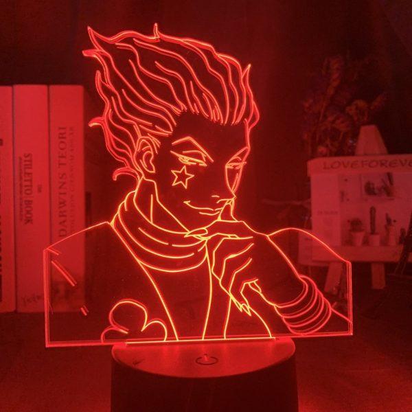 HISOKA LED ANIME LAMP (HUNTER X HUNTER) Otaku0705 TOUCH+ (REMOTE) Official Anime Light Lamp Merch