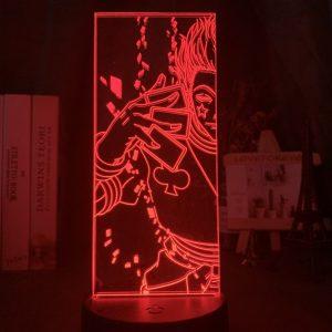HISOKA CARDS LED ANIME LAMP (HUNTER X HUNTER) Otaku0705 TOUCH +(REMOTE) Official Anime Light Lamp Merch