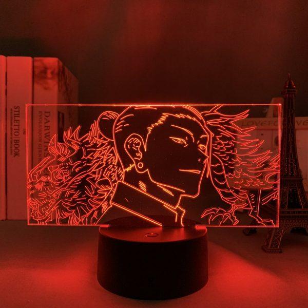 GETOU'S SERENITY LED ANIME LAMP (JUJUTSU KAISEN) Otaku0705 TOUCH +(REMOTE Official Anime Light Lamp Merch