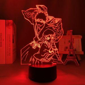 RUKIA X ICHIGO ANIME LAMP (BLEACH) Otaku0705 TOUCH +(REMOTE) Official Anime Light Lamp Merch