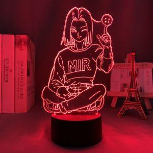 ANDRIOD 17 LED ANIME LAMP (DBZ) Otaku0705 TOUCH +(REMOTE) Official Anime Light Lamp Merch