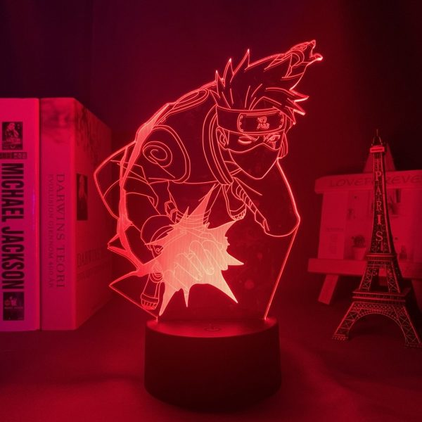 KAKASHI+ LED ANIME LAMP (NARUTO) Otaku0705 TOUCH Official Anime Light Lamp Merch