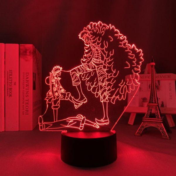 LUFFY VS DOFLAMINGO LED ANIME LAMP (ONE PIECE) Otaku0705 TOUCH Official Anime Light Lamp Merch