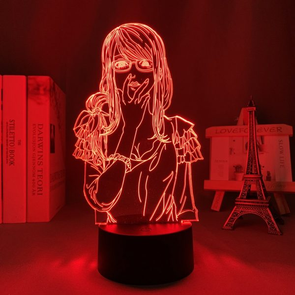 RIZE KAMISHIRO LED ANIME LAMP (TOKYO GHOUL) Otaku0705 TOUCH +(REMOTE) Official Anime Light Lamp Merch