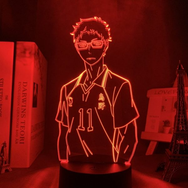 KEI TSUKISHIMA LED ANIME LAMP (HAIKYUU!!) Otaku0705 TOUCH +(REMOTE) Official Anime Light Lamp Merch