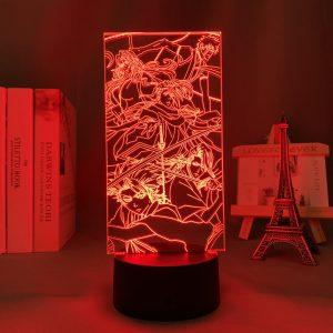 ICHIGO SQUAD LED ANIME LAMP (BLEACH) Otaku0705 TOUCH Official Anime Light Lamp Merch