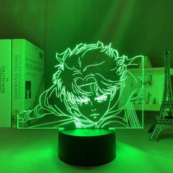 FLY LEVI LED ANIME LAMP (ATTACK ON TITAN) Otaku0705 TOUCH +(REMOTE) Official Anime Light Lamp Merch