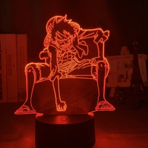 LUFFYX LED ANIME LAMP (ONE PIECE) Otaku0705 TOUCH +(REMOTE) Official Anime Light Lamp Merch