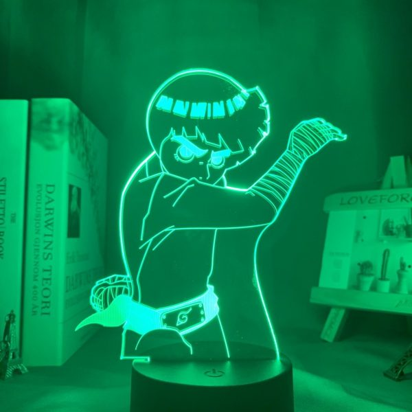 ROCK LEE LED ANIME LAMP (NARUTO) Otaku0705 TOUCH +(REMOTE) Official Anime Light Lamp Merch