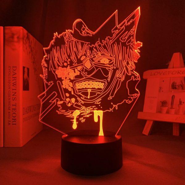 KENS REVENGE ANIME LAMP (TOKYO GHOUL) Otaku0705 TOUCH +(REMOTE) Official Anime Light Lamp Merch