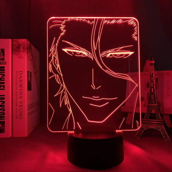 AIZEN LED ANIME LAMP (BLEACH) Otaku0705 TOUCH +(REMOTE) Official Anime Light Lamp Merch
