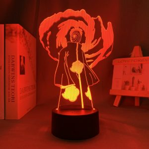 THE ONE OBITO LED ANIME LAMP (NARUTO) Otaku0705 TOUCH Official Anime Light Lamp Merch