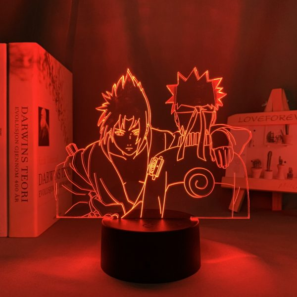 SXN BROTHERS LED ANIME LAMP (NARUTO) Otaku0705 TOUCH Official Anime Light Lamp Merch